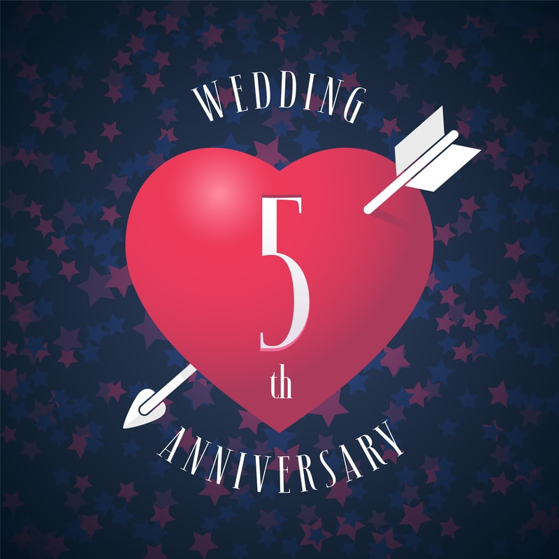 How to Make Your 5th Wedding Anniversary Special