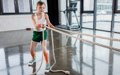 Can 10-year-olds Benefit from Going to the Gym?