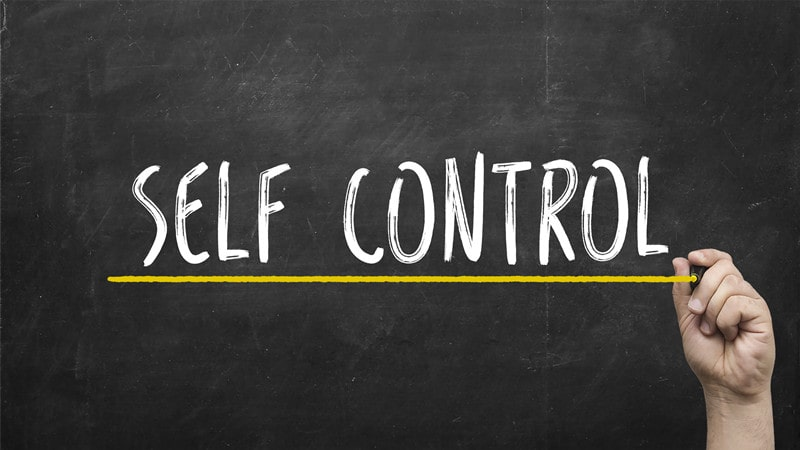 How can I teach my 10-year-old son self control?