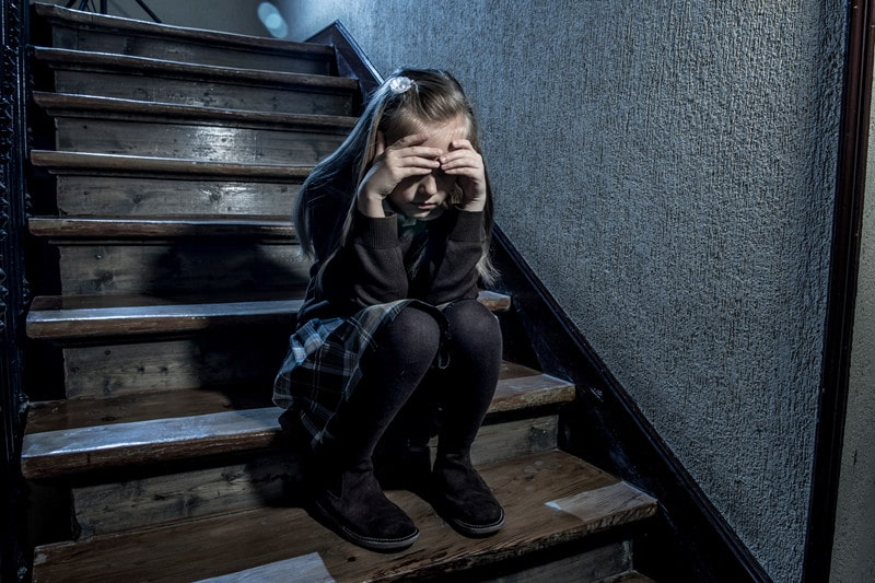 How do I handle my 10-year-old daughter's nightly meltdowns?