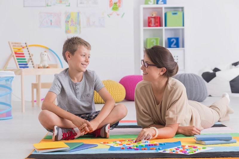 How do I help my 10 year old son who has stammering problem?