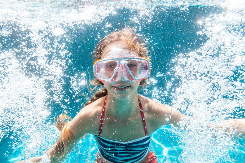Will swimming and cycling increase a 10-year-old girl's height?