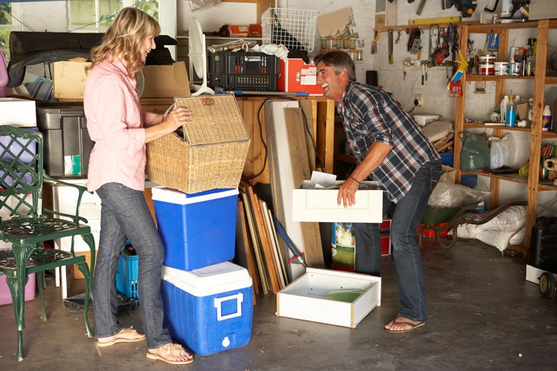 How Do You Declutter A Garage