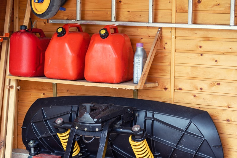 Is It OK to Store Gasoline in the Garage