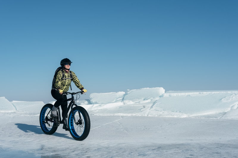 Can You Mountain Bike in the Snow?