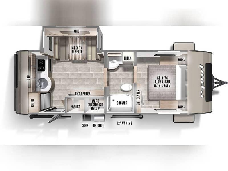2021 Rpod 202 floor