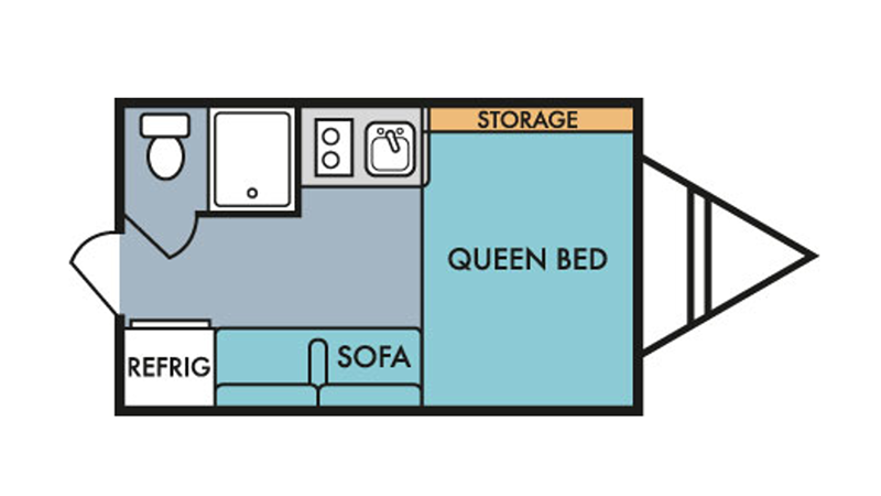 135 Retro Silver Serie floor plan