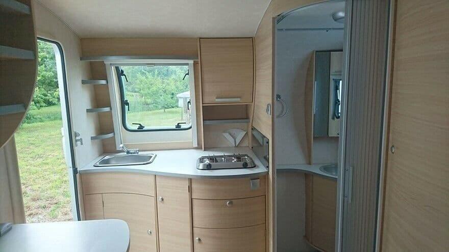 2007 Adria Action 341 PH+ interior
