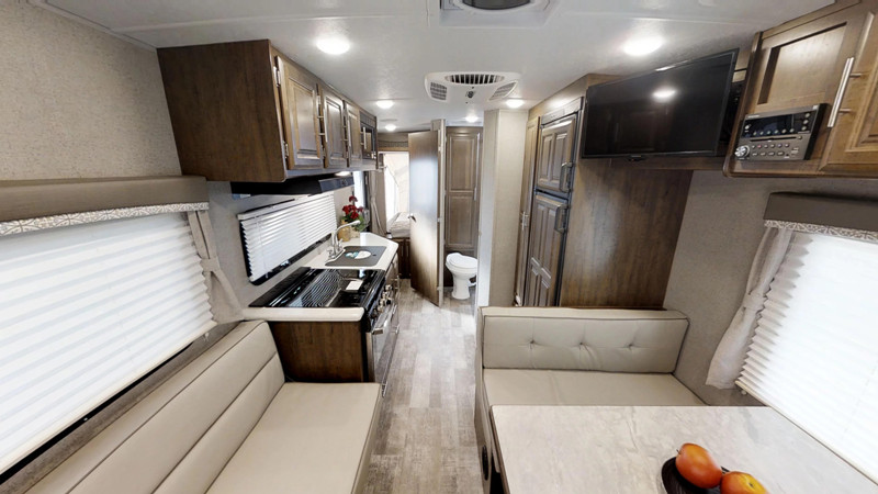 2019 FOREST RIVER ROCKWOOD 19 ROO interior