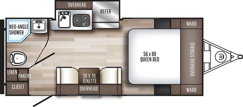 2019 Palomini 182SK floor plan
