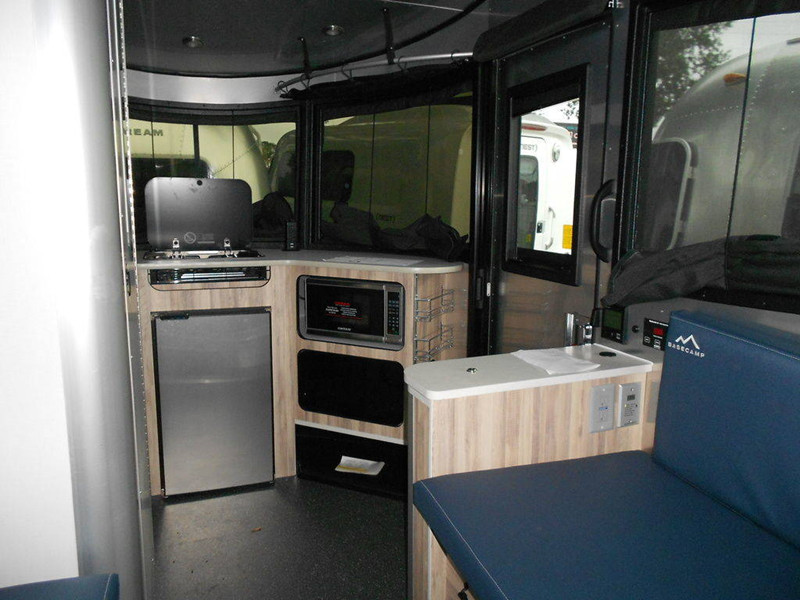 2020 Airstream Basecamp X Travel Trailer interior