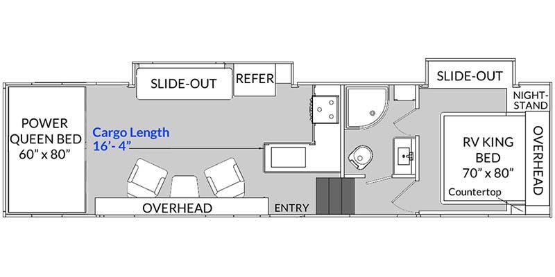2020 Genesis Supreme 30IKS floor plan