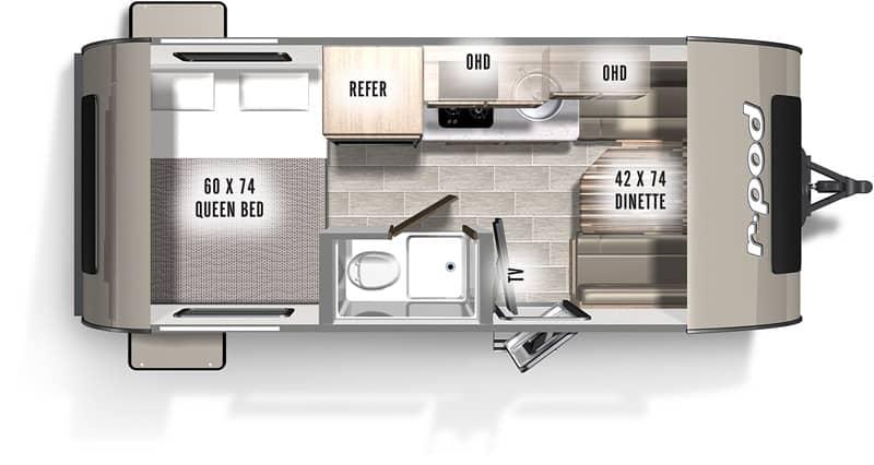 2020 Jayco Jay Flight SLX-7 175RD floor plan