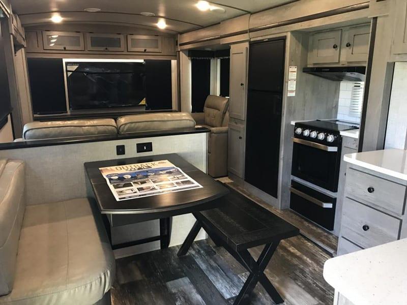 2020 Keystone Outback 341RD interior