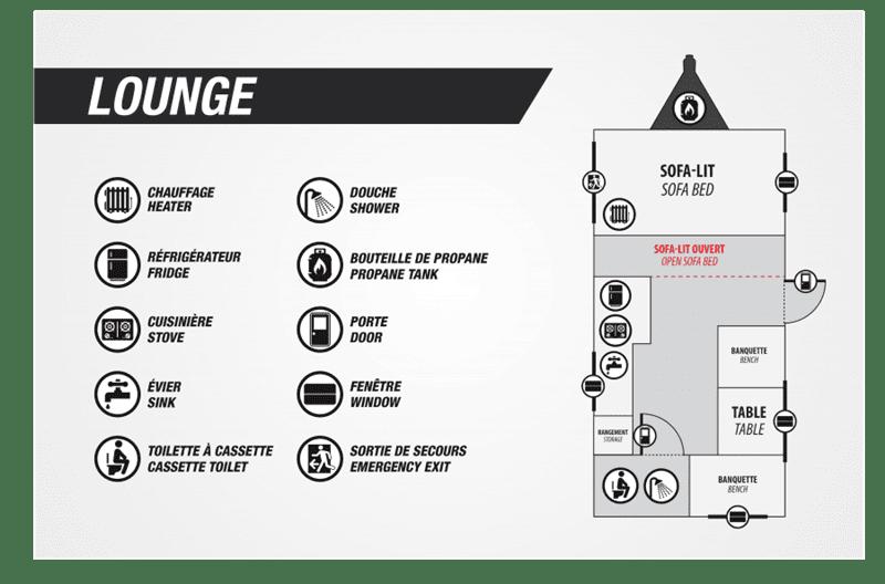 2020 Prolite Lounge floor plan