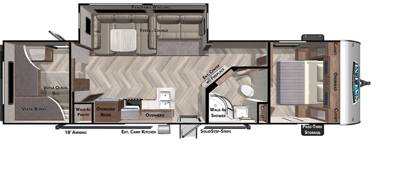 2020 Salem 29VBUD floor plan