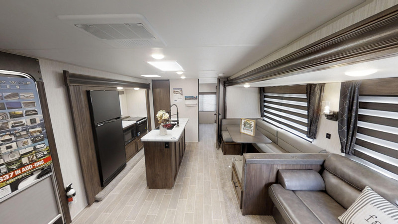 2021 Forest River Cherokee 304BH interior