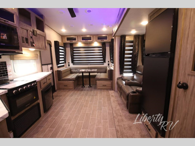 2021 Forest River Cherokee Arctic Wolf 251MK interior