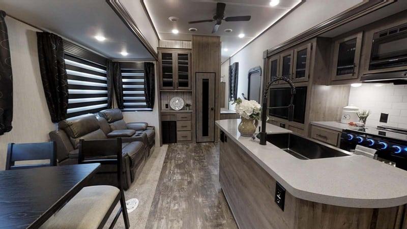 2021 Forest River Sabre 38DBQ interior
