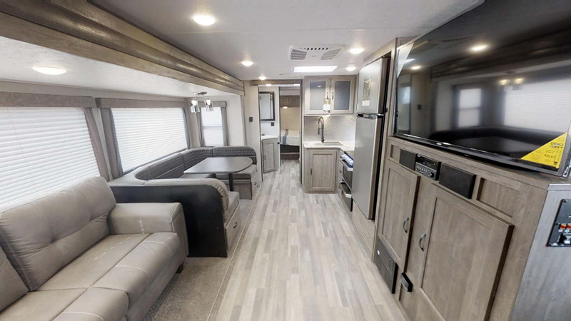 2021 Forest River Vibe 28BH interior