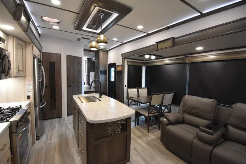 Alliance RV Paradigm 370FB interior