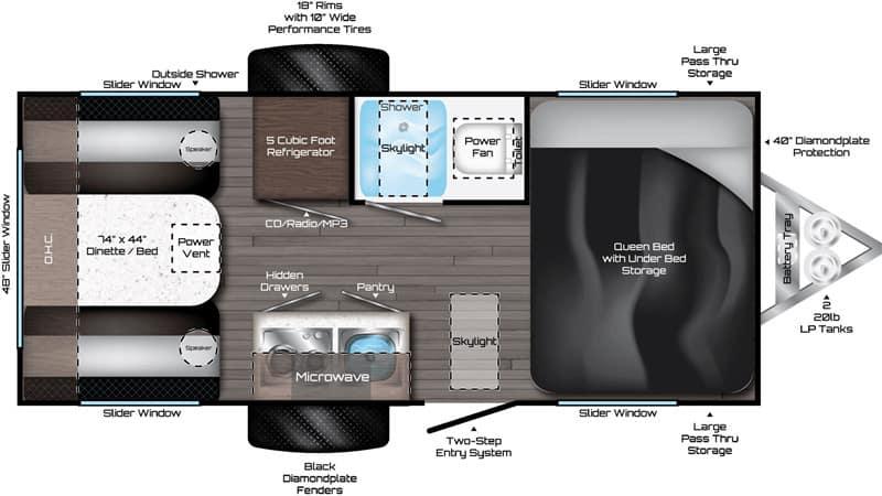 Falcon Fire F-20 floor plan
