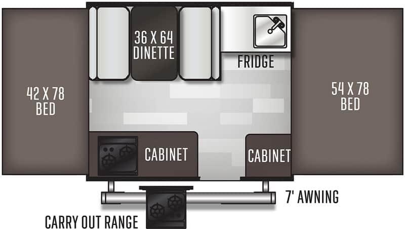 Flagstaff MAC 176LTD floor plan
