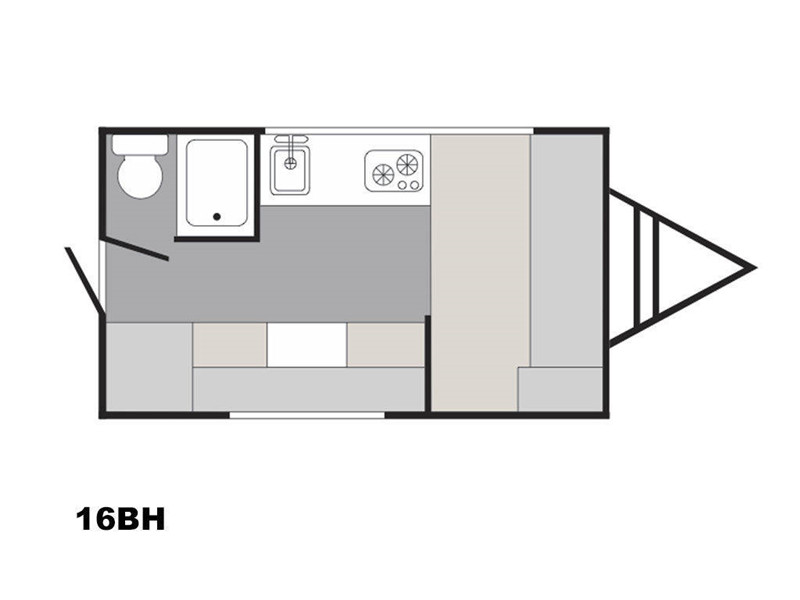 SUN-LITE 16BH floor plan