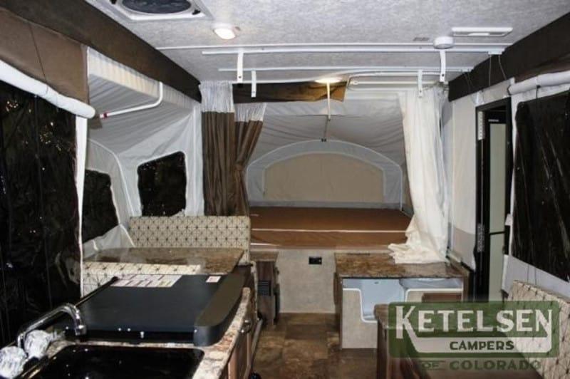 2017 Coachmen Clipper V-TREC V3 interior