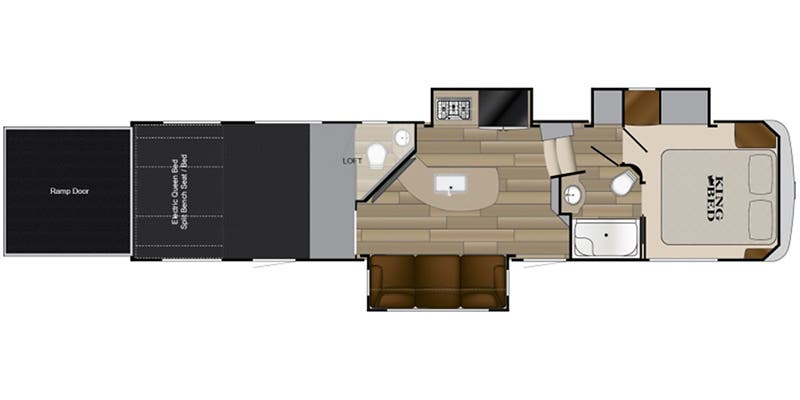 2017 Heartland Cyclone 3513 floor plan