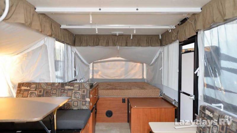 2017 Somerset E3 Box Pop-Up Camper interior