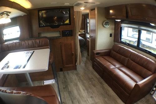2018 Lance 2285 interior
