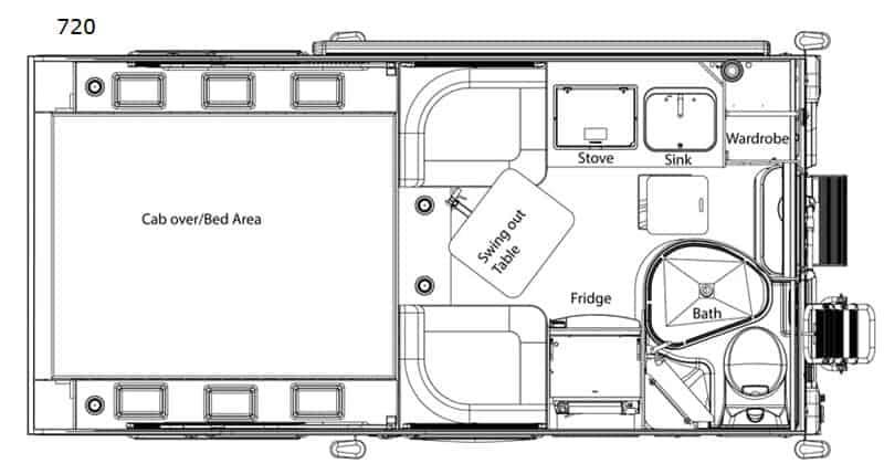 2019 Cirrus 720 floor plan