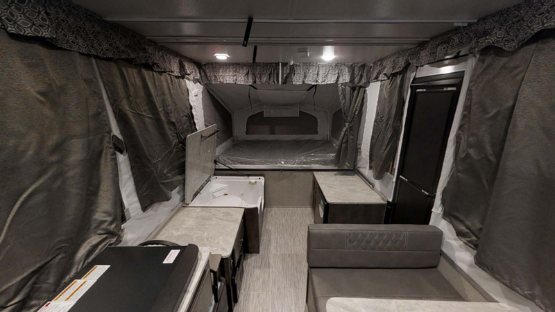 2019 Flagstaff 205MAC interior