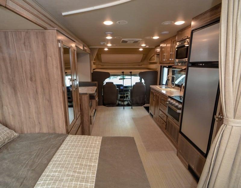 2020 Entegra Odyssey 24B interior