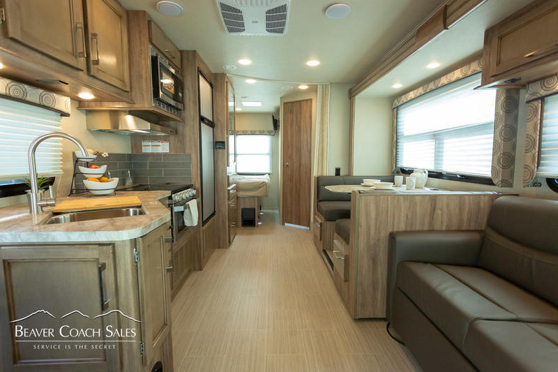 2020 Entegra Odyssey 26D interior