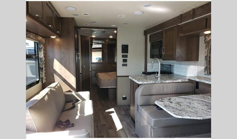 2020 Jayco Alante 27A interior