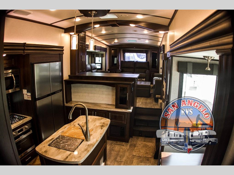 2020 Jayco North Point 385THWS interior