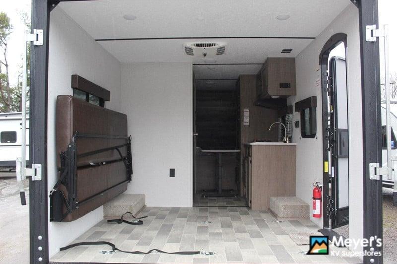 2020 Keystone 172LHS interior