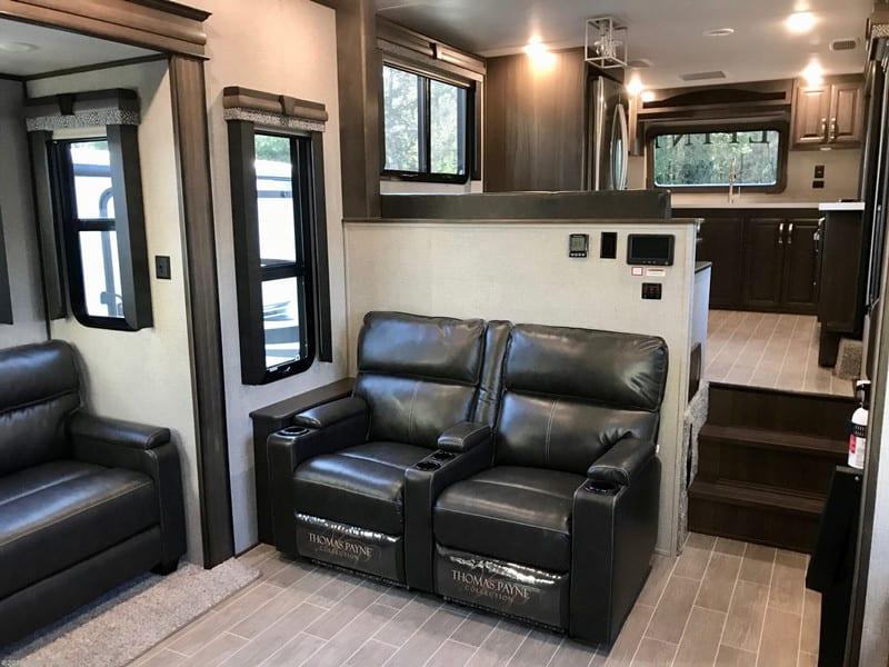 2020 Keystone Alpine 3801FK interior