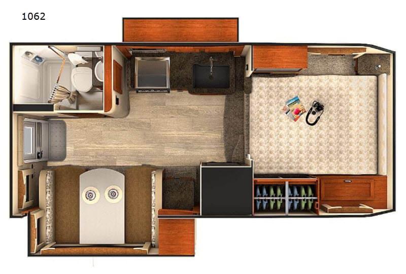2020 Lance 1062 floor plan