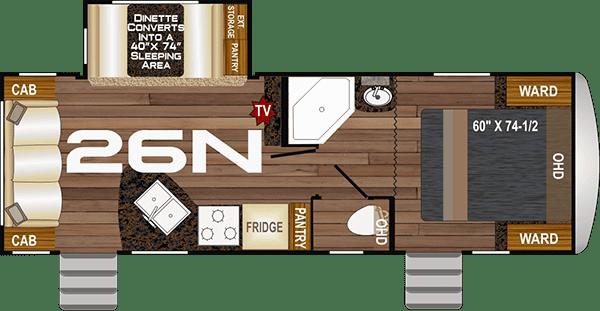 2020 NASH 26N floor plan