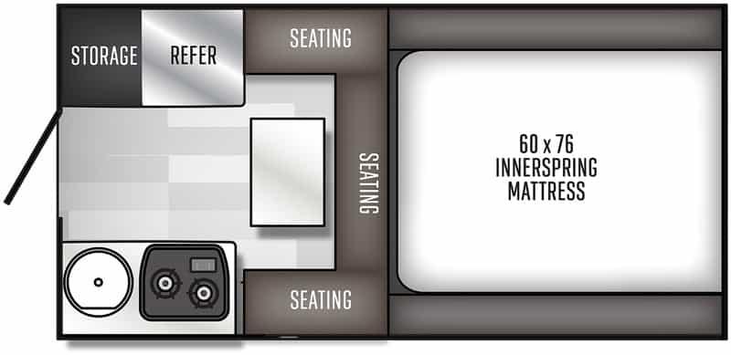 2020 Palomino SS500 floor plan