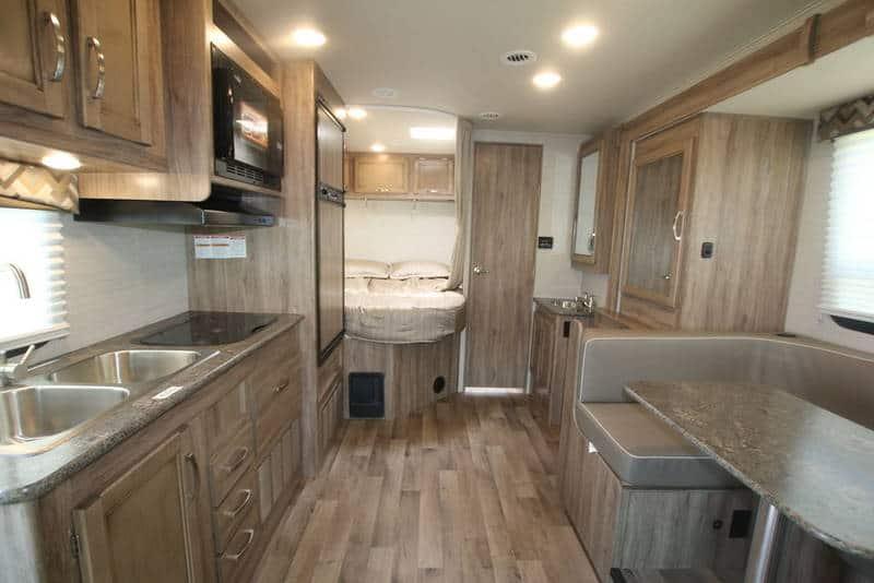 2020 Redhawk 22A interior