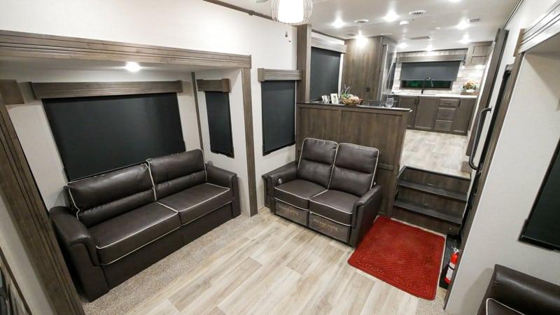 2021 Cardinal 402FKLE interior