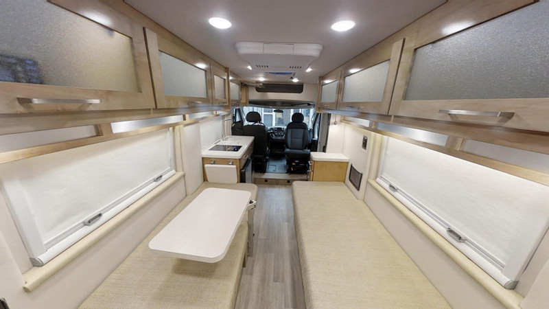 2021 Coachmen Nova 20RB interior