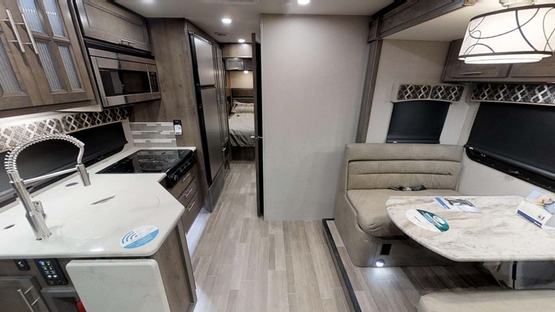 2021 Dynamax Isata 5 28SS interior