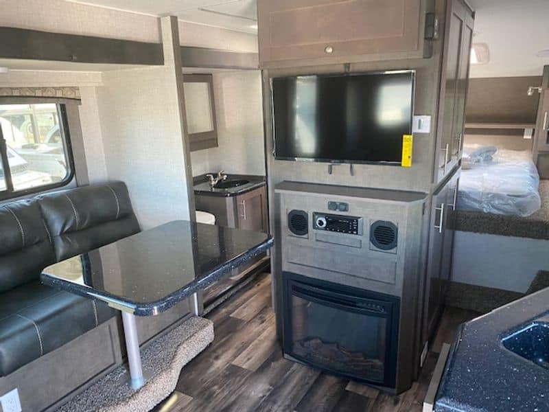 2021 Host Yukon Truck Camper interior