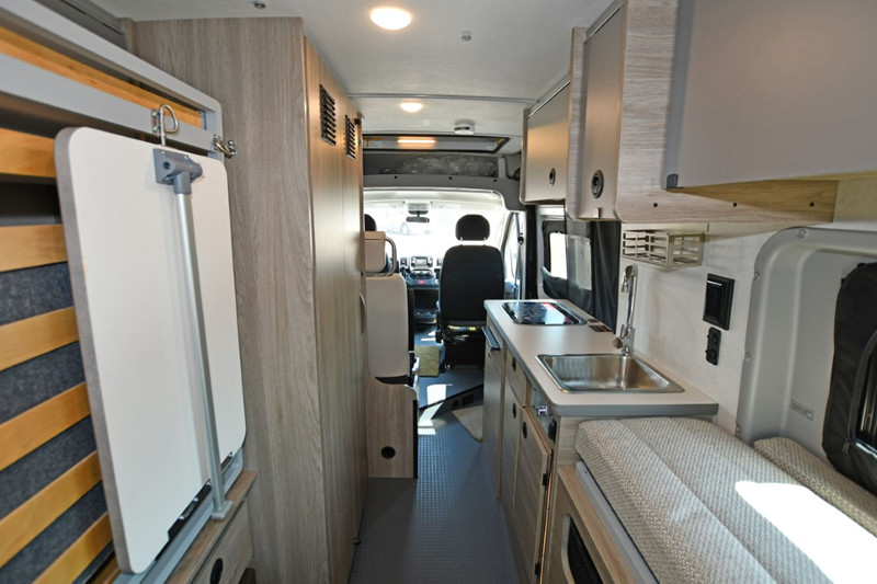 2021 Winnebago Solis 59P interior