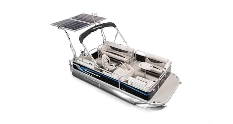2020 Princecraft Brio 17e Electric Pontoon Boat